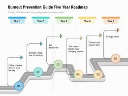 Burnout Prevention Guide Five Year Roadmap