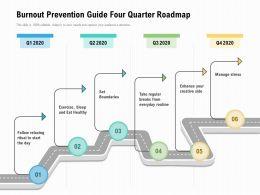 Burnout Prevention Guide Four Quarter Roadmap