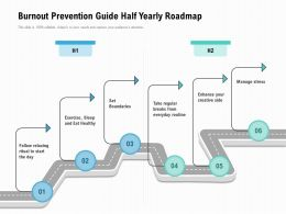 Burnout Prevention Guide Half Yearly Roadmap