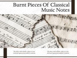 Burnt Pieces Of Classical Music Notes