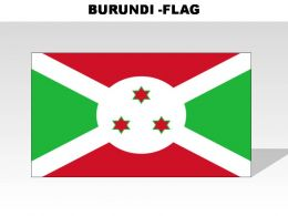 Burundi Country Powerpoint Flags