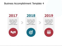 Business Accomplishment Template Opportunity Ppt Presentation Slides