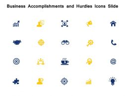 Business Accomplishments And Hurdles Icons Slide A95 Growth Ppt Powerpoint Presentation