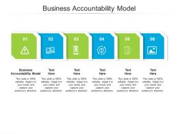 Business Accountability Model Ppt Powerpoint Presentation Inspiration Infographic Template Cpb