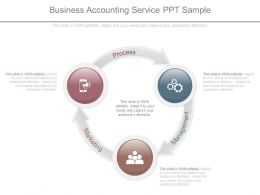 Business Accounting Service Ppt Sample