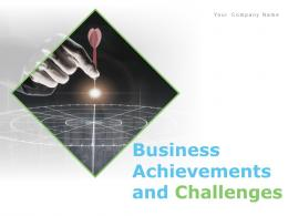 Business Achievements And Challenges Powerpoint Presentation Slides