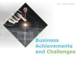 Business Achievements And Challenges Powerpoint Presentation Slides