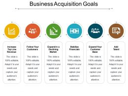 Business Acquisition Goals Presentation Images