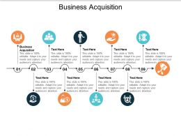 Business Acquisition Ppt Powerpoint Presentation Infographics Information Cpb