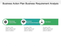 Business Action Plan Business Requirement Analysis Cpb
