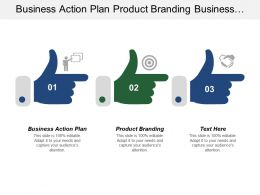 Business Action Plan Product Branding Business Operation Plan