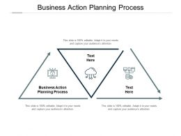 Business Action Planning Process Ppt Powerpoint Presentation Outline Graphics Cpb