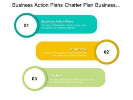 Business Action Plans Charter Plan Business Management Plans Cpb
