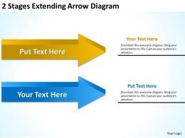 Business Activity Diagram Extending Arrow Powerpoint Templates PPT Backgrounds For Slides