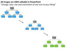 Business Activity Diagram Organization Chart Process Flow. Powerpoint Slides 0515