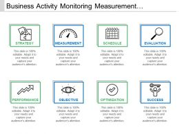 Business Activity Monitoring Measurement Evaluation Success