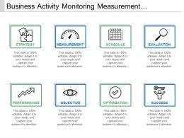 Business Activity Monitoring Measurement Evaluation Success