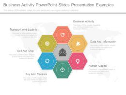 Business Activity Powerpoint Slides Presentation Examples