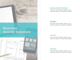 Business Activity Statement Ppt Powerpoint Presentation Infographics Infographic Template Cpb