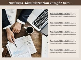 Business Administration Insight Into Financial Aspects Of Management