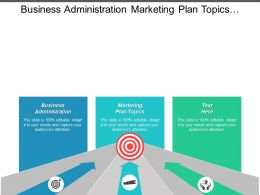 Business Administration Marketing Plan Topics Supply Chain Risk Management Cpb