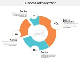 Business Administration Ppt Powerpoint Presentation Gallery Example File Cpb