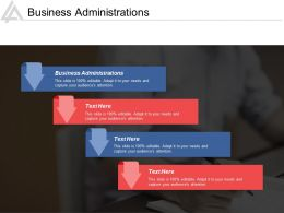 Business Administrations Ppt Powerpoint Presentation Icon Themes Cpb