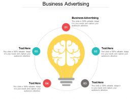 Business Advertising Ppt Powerpoint Presentation File Model Cpb