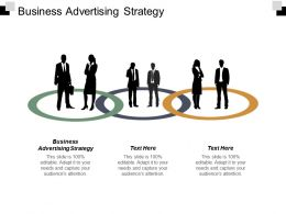 Business Advertising Strategy Ppt Powerpoint Presentation Pictures Inspiration Cpb