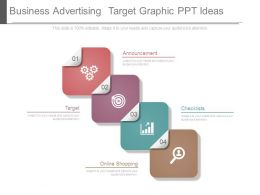 Business Advertising Target Graphic Ppt Ideas