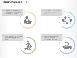 Business Adviser Idea Generation Growth Success Giving Ppt Icons Graphics