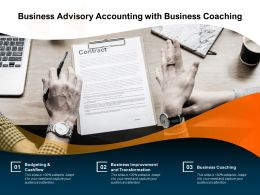Business Advisory Accounting With Business Coaching