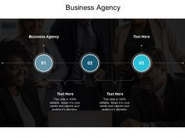 Business Agency Ppt Powerpoint Presentation File Structure Cpb