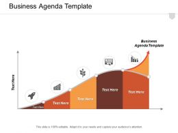 Business Agenda Template Ppt Powerpoint Presentation Infographic Template Infographics Cpb