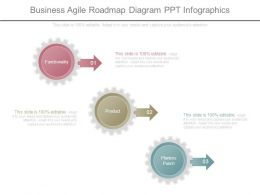 Business Agile Roadmap Diagram Ppt Infographics