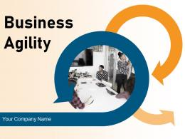 Business Agility Planning Economic Ecosystem Innovation Transformation Gear