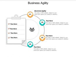 Business Agility Ppt Powerpoint Presentation File Graphics Template Cpb