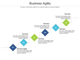 Business Agility Ppt Powerpoint Presentation Infographic Template File Formats Cpb