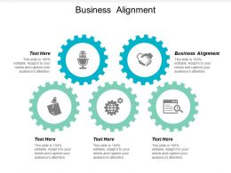 Business Alignment Ppt Powerpoint Presentation File Microsoft Cpb