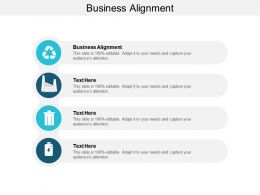 Business Alignment Ppt Powerpoint Presentation Layouts Graphic Tips Cpb