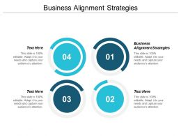 Business Alignment Strategies Ppt Powerpoint Presentation Portfolio Graphics Tutorials Cpb