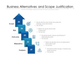 Business Alternatives And Scope Justification