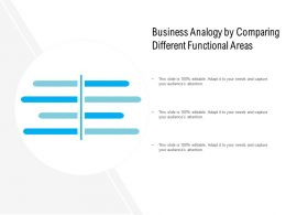 Business Analogy By Comparing Different Functional Areas