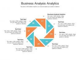 Business Analysis Analytics Ppt Powerpoint Presentation Inspiration Structure Cpb