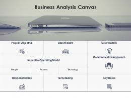 Business Analysis Canvas