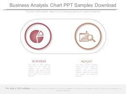 Business Analysis Chart Ppt Samples Download
