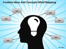 Business Analysis Diagrams Creative Ideas And Concepts Mind Mapping Powerpoint Slides