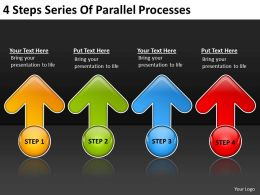 Business Analysis Diagrams Of Parallel Processes Powerpoint Templates PPT Backgrounds For Slides