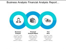 Business Analysis Financial Analysis Report Marketing Communications Warehouse Management Cpb