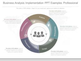 Business Analysis Implementation Ppt Examples Professional